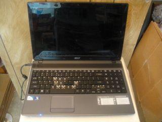 Acer 5733Z 4851 Laptop Intel Pentium P6100 CPU 15 6 LCD 4GB RAM as Is