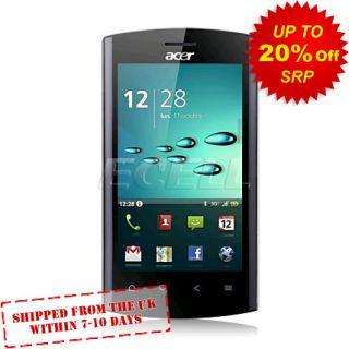 New Unlocked Acer Liquid Metal S120 Black Mobile Phone