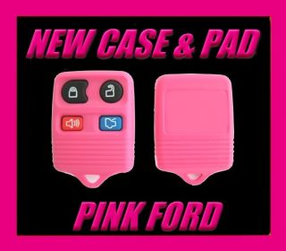 New Unique Pink Ford Lincoln Mercury Keyless Entry Key Fob Colored