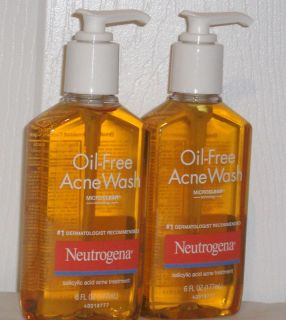 Neutrogena Oil Free Acne Blemish Body Wash Liquid Soap 6 FL oz 177ml