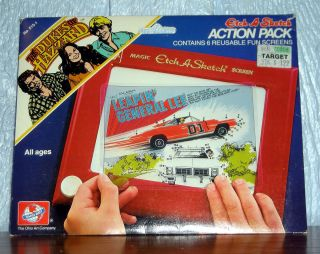 Etch A Sketch Action Pack DUKES OF HAZZARD Ohio Art   6 Screen Set