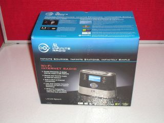 NEW ACOUSTIC RESEARCH AR INFINATE RADIO Wi Fi INTERNET RADIO RADIO