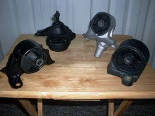 HONDA CIVIC & ACURA EL   SET ENGINE & TRANSMISSION MOTOR MOUNTS (SEDAN