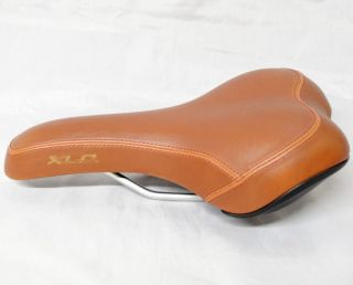 Velo Hybrid Trekking Cruiser Bike Bicycle Saddle Seat Brown New