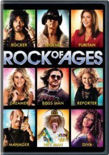 Rock of Ages DVD New Julianne Hough Diego Boneta Tom Cruise Mary J