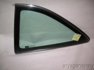 97 99 acura cl oem rear l corner window glass