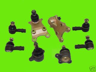 Ball Joints 4 Tie Rod Ends Acura SLX Trooper 95 96 02