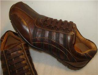 Steve Madden Mens Shoes Brown Lace Up Sz 7 5 M
