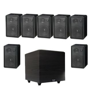 Surround Sound/Bookshelf Speaker System w/15 Home Theater Powered Sub