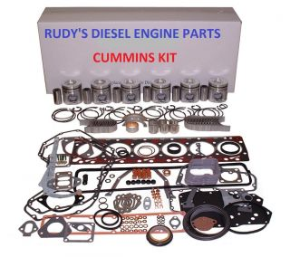 94 98 Dodge 2500 3500 5 9 Cummins Diesel 12V Engine Kit with Oil Pump