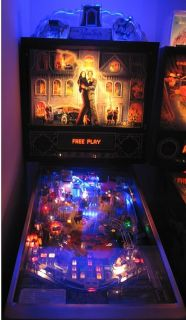 Addams Family Pinball Cloud Playfield Light Mod Kit
