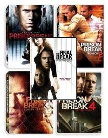 New Prison Break DVD 1 4 Season 1 2 3 & 4 + Final Break Seasons
