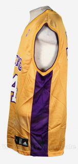 Lakers Kobe Bryant Jersey Adidas NBA Basketball Yellow