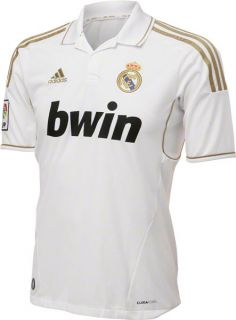 Real Madrid Football Club Adidas Soccer Home Jersey