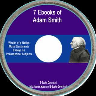 The Wealth of A Nation Adam Smith Economics eBook CD