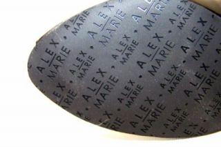 Alex Marie Coco Slingback Womens Shoes Black Patent 7 5