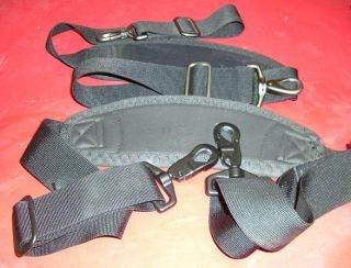 Adjustable Generic Nylon Black Replacement Shoulder Strap for MSG Lap