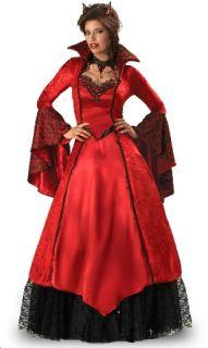 Costume Diavolessa Deluxe Diavoletta Diavolo Festa Halloween Carnevale
