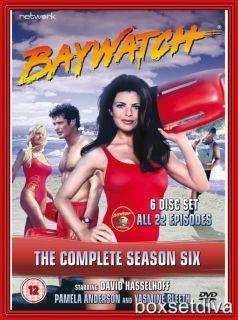 Baywatch Complete Season 6 Brand New DVD