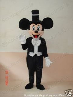 Mickey Mouse Tuxedo Adult Size Mascot Costume Clothing