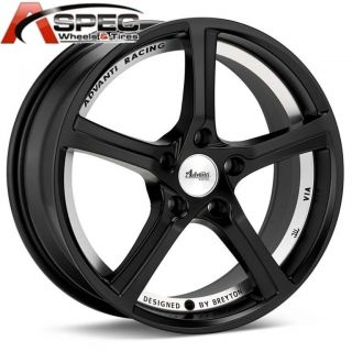 Advanti 15th Anniversary 17x7 5 5x112 35 Matt Black Rim Wheel Fit Audi