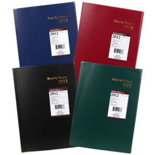 2012 Large Monthly Agenda Appointment Book Personal Planner Organizer