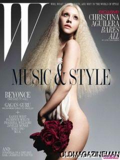 Christina Aguilera w Magazine July 2011 Beyonce Gaga