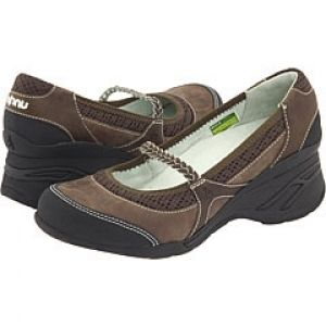 Womens Casual Ahnu Olivia Brown Nubuck Leather Shoes Size 11