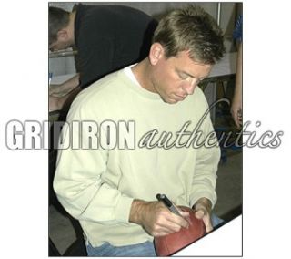 Troy Aikman Dallas Cowboys Autographed Wilson Football w HOF 2006
