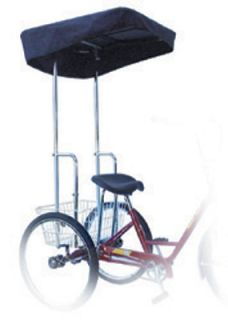 New Sun Adult 3 Wheel Tricycle Bicycle Bike Canopy 45839