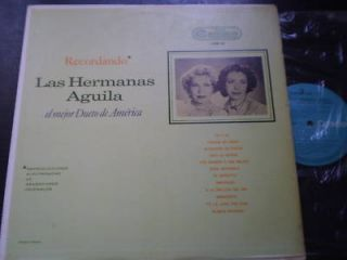 Las Hermanas Aguila Recordando LP MINT RCA