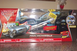 Disney Pixar Cars 2 Movie Car Air Hogs Talking RC Finn McMissile