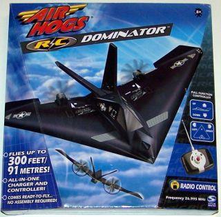 Air Hogs R C Dominator New Radio Controlled Airplane