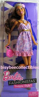 Barbie Fashionistas Artsy Doll T7410 Swappin Styles 2010