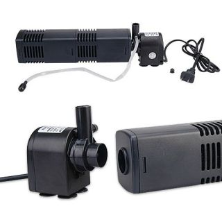 aquarium fish tank water pump filter air pipe 880l h