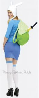 Adventure Time with Finn and Jake Fionna Adult Halloween Costume Dress
