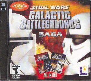 Star Wars Galactic Battlegrounds Saga Free US Shipping