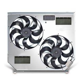 Flex a lite Direct Fit Electric Fan 6,200 CFM Puller 15 Dia Dual 272