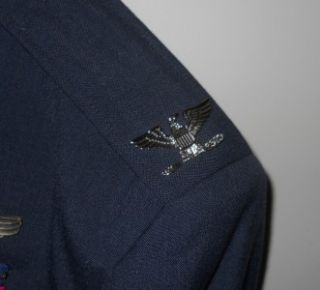 Vintage U s Air Force Dress Uniform WWII Korean War Highly Decorated
