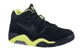 Nike Basketball Air Force 180   Black/ Black Volt 310095 012 Charles
