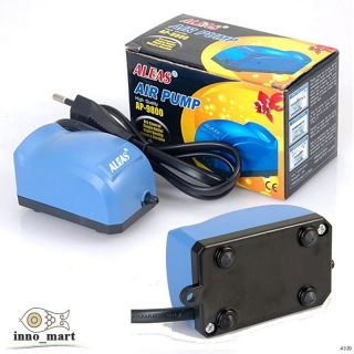 High Quality Aleas Aquarium Fish Tank Silent Air Pump