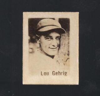Baguer Set Babe Ruth Lou Gehrig Al Lopez Rookie Ott 89 90