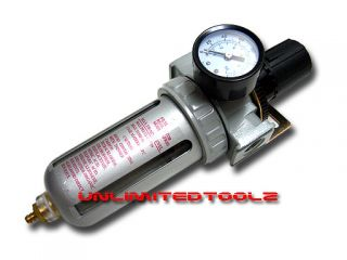 Air Regulator Oil Water Separator Filter Unit Air Tools