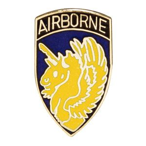US Army 13th Airborne Division Pin 13th Airborne Division Hat or Lapel