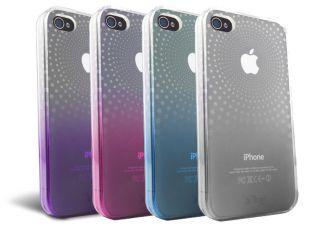 iFrogz Soft Gloss Phase TPU Case at T Verizon iPhone 4