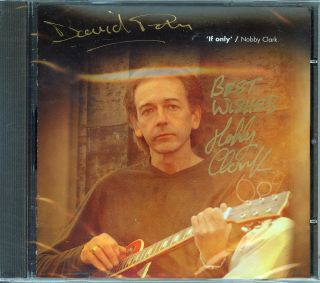 Nobby Clark CD If Only David Paton of Alan Parsons Bay City Rollers