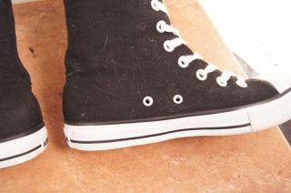 Airwalk Black Laced 8 5 Womens Knee High Boots Sneakers