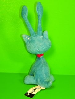 AISHA * Neopets BLUE Cat Kitten Plush 2004 McDonalds McD 5 Toy