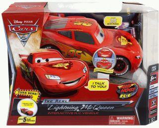 Air Hogs RC Real Lightning McQueen Remote Radio Control Disney Pixar