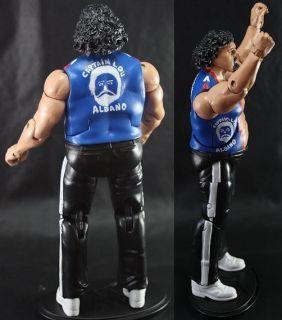 WWE Mattel Legends WWF Figure 1980s Attire Capt Lou Albano